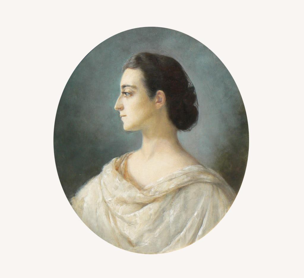 Izabela z Czartoryskich Działyńska, portret, niezła sztuka