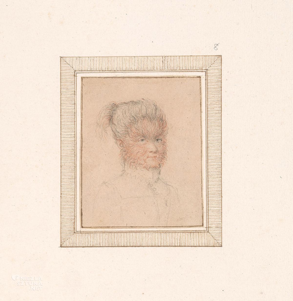 Lavinia Fontana, Antonietta Gonzales, Pedro Gonzales, niezła sztuka