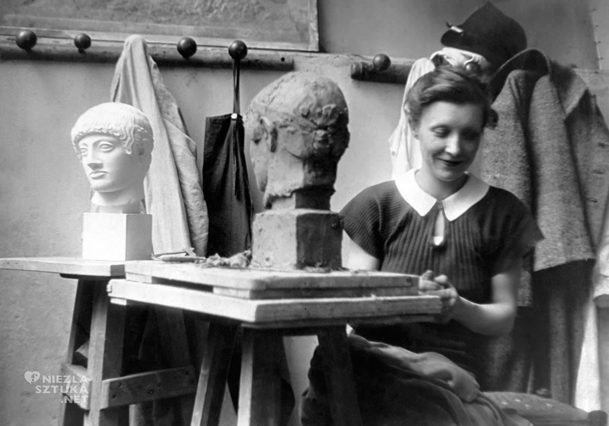 Louise Bourgeois, rzeźbiarka, Brassai, niezła sztuka