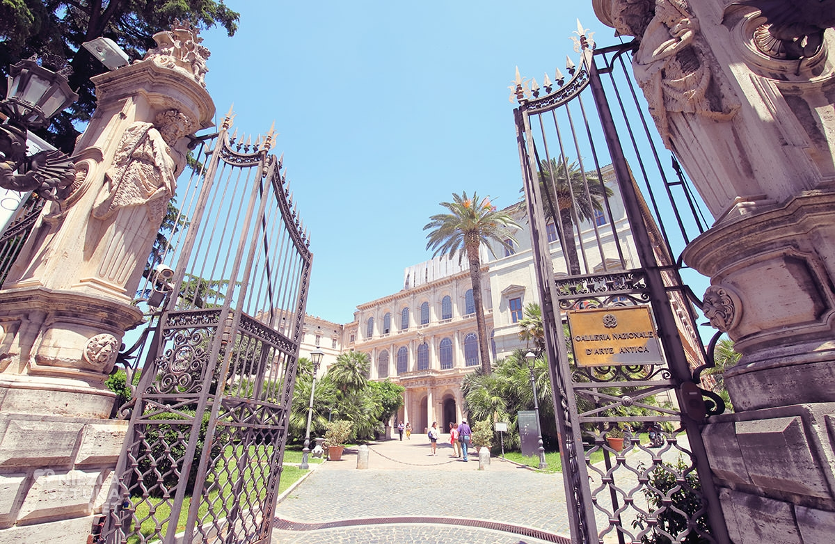 Palazzo Barberini, Rzym, Galleria Nazionale d'Arte Antica, niezła sztuka