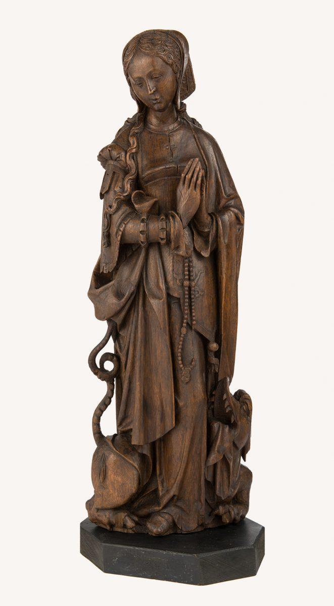 Święta Małgorzata rzeźba, niezła sztuka