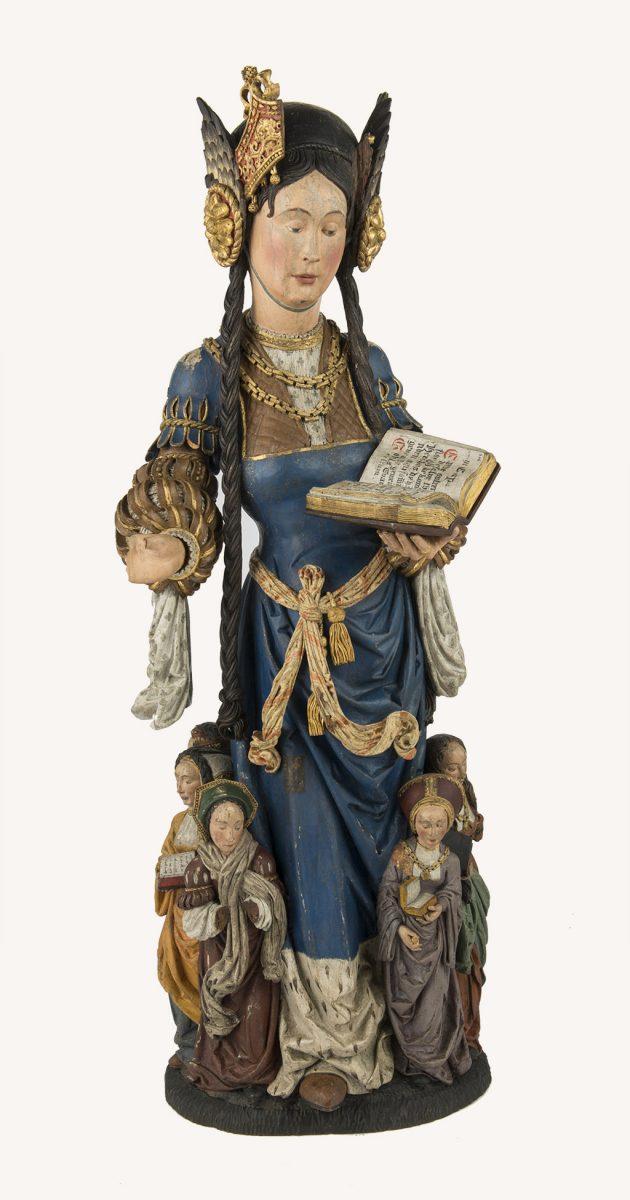 Święta Urszula rzeźba, niezła sztuka