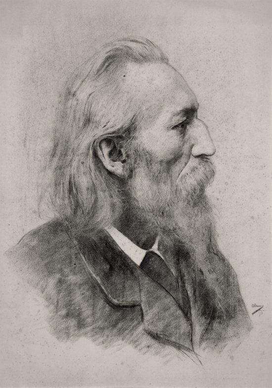 Wojciech Weiss, Portret Jana Matejki, sztuka polska, Niezła Sztuka