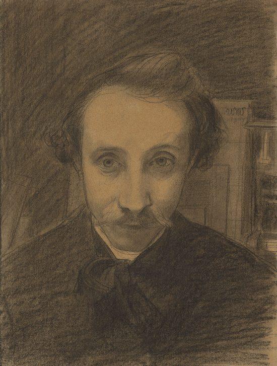 Wojciech Weiss, Autoportret, sztuka polska, malarstwo polskie, Niezła Sztuka