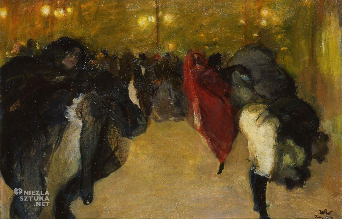 Wojciech Weiss, Kankan w Moulin Rouge, Paryż, kabaret, Niezła Sztuka