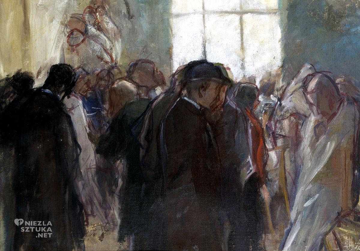 Wojciech Weiss, Pracownia paryska, sztuka polska, malarstwo polskie, Niezła Sztuka