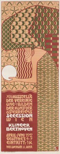 Alfred Roller, plakat, secesja, niezła sztuka