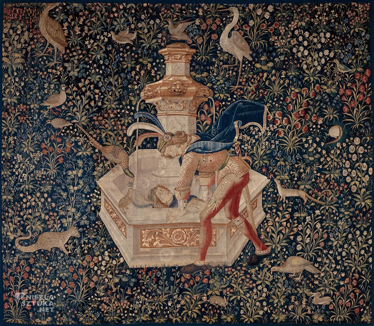 Arras, narcyz w sztuce, Owidiusz Metamorfozy, niezła sztuka