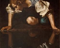 Caravaggio, Narcyz, sztuka europejska, barok, Niezła Sztuka