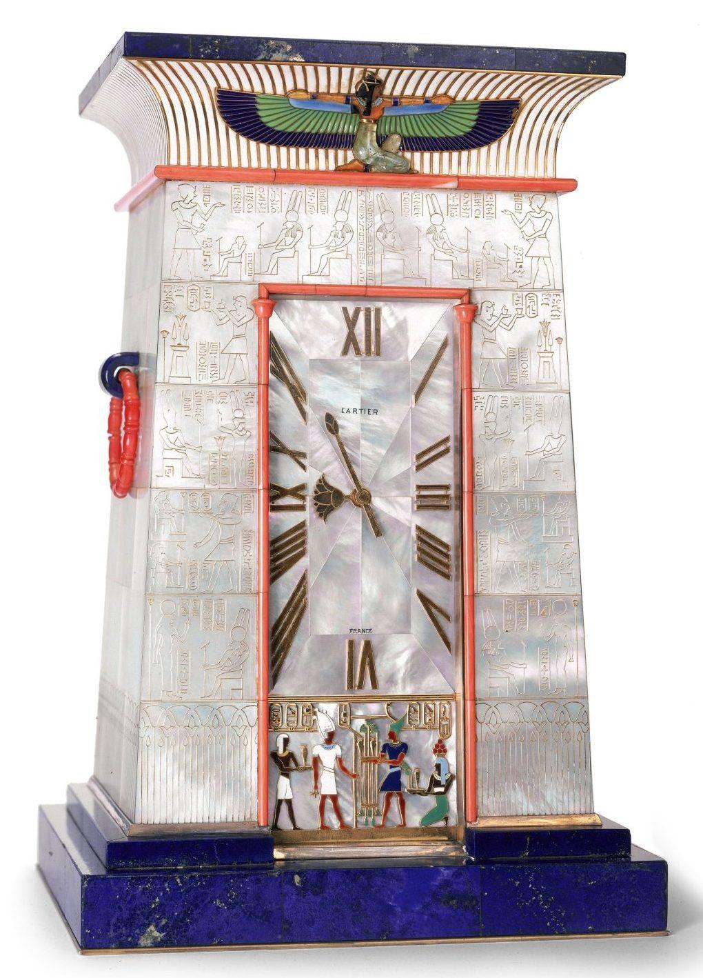 Cartier, zegarek, sztuka użytkowa, art deco, Niezła Sztuka
