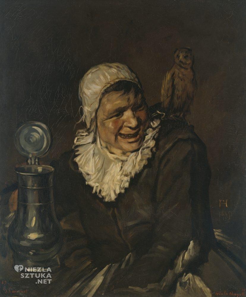 Gustav Courbet, Malle Babbe, Kunstahalle, Hamburg, Frans Hals, Niezła sztuka