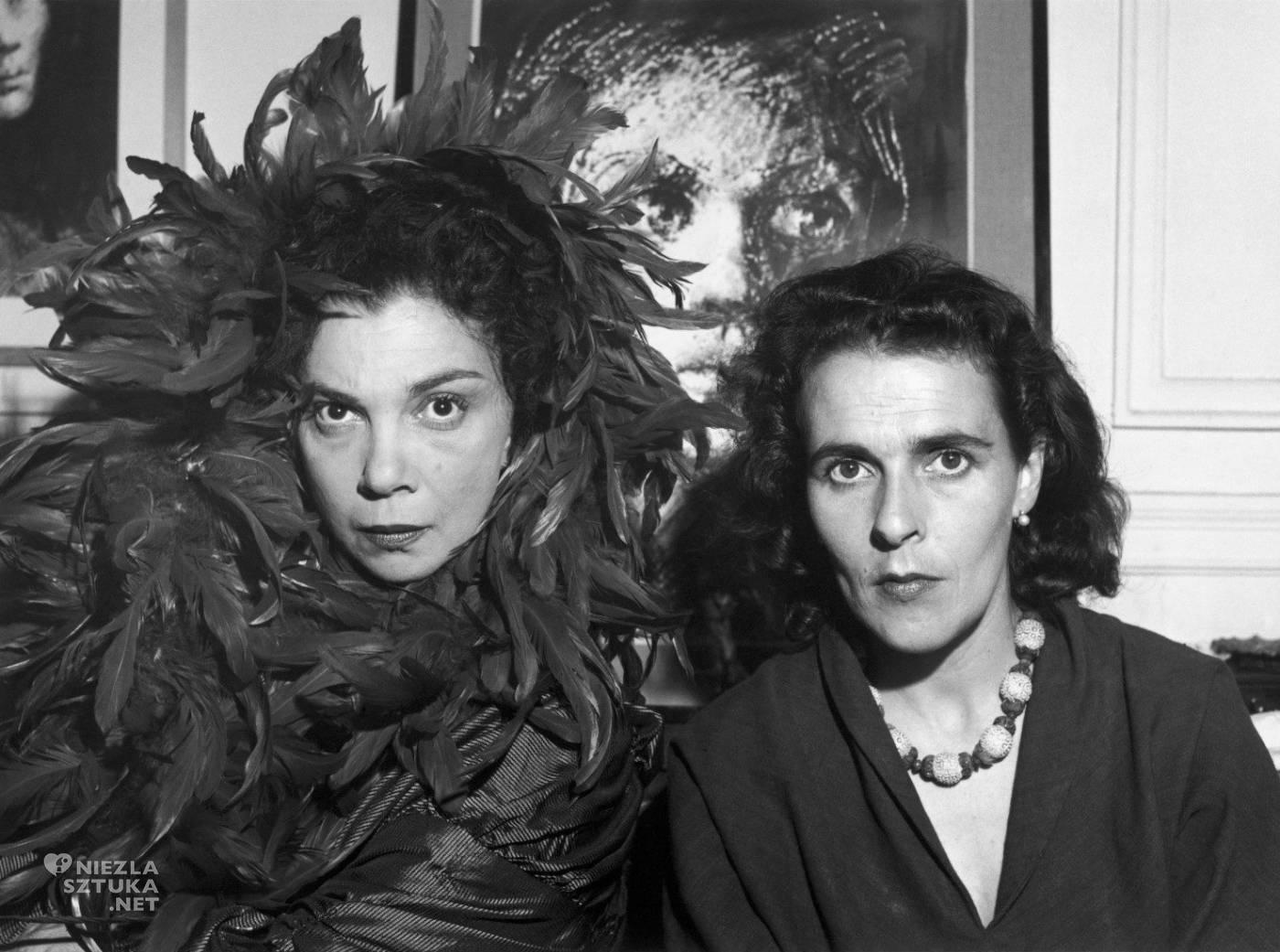 Leonora Carrington, Leonor Fini, fotografia, surrealistki, kobiety w sztuce, niezła sztuka