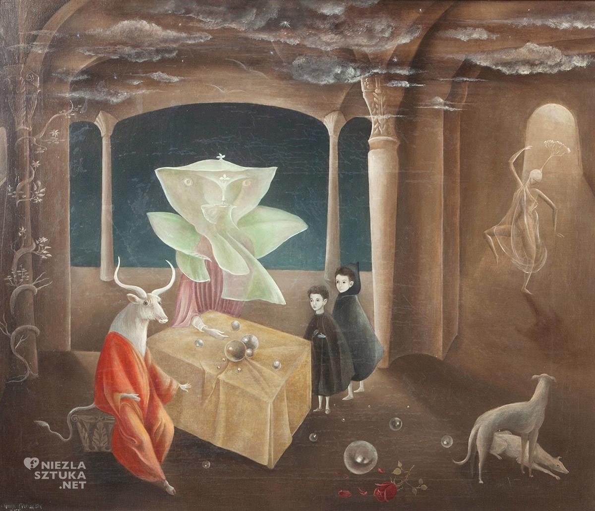 Leonora Carrington, And Then We Saw the Daughter of the Minotaur, surrealizm, kobiety w sztuce, Niezła Sztuka