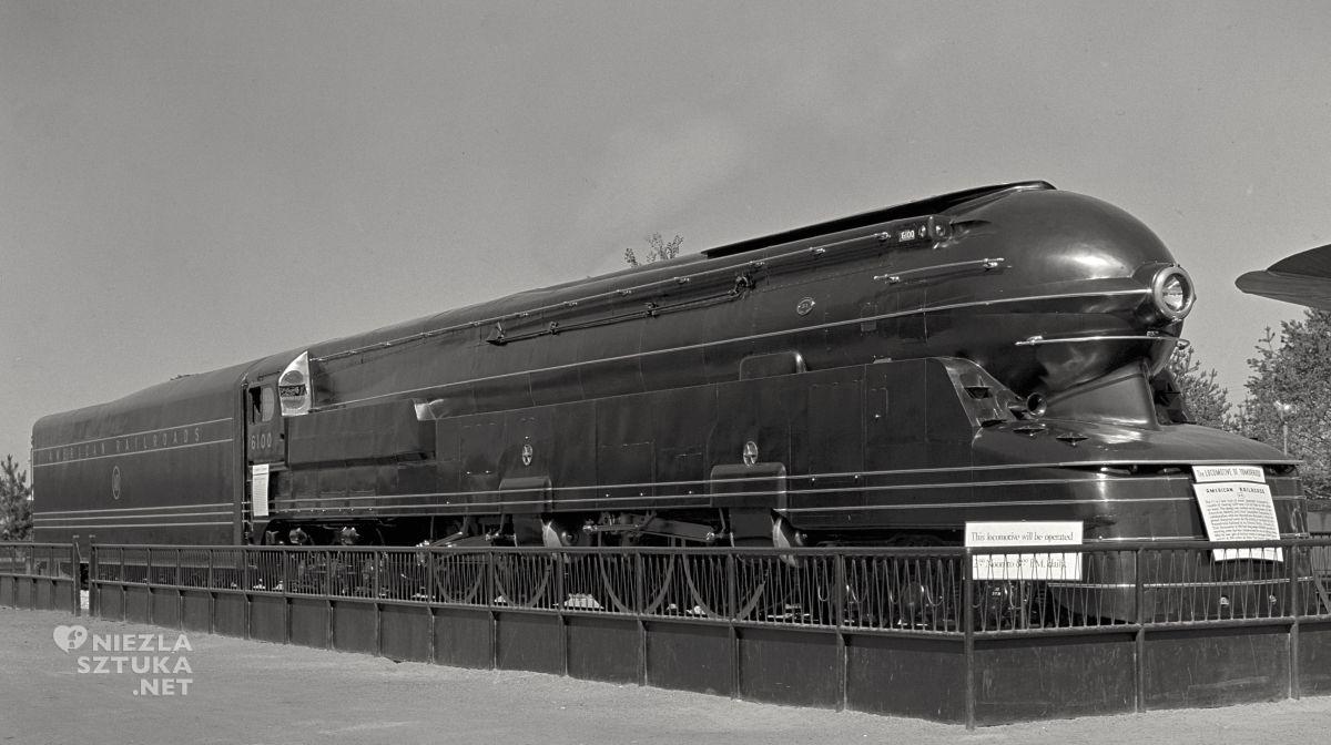 Pennsylvania Railroad S1, Raymond Loewy, art deco, niezła sztuka
