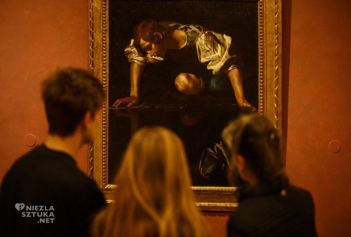 Narcyz, Caravaggio, Rzym, niezła sztuka