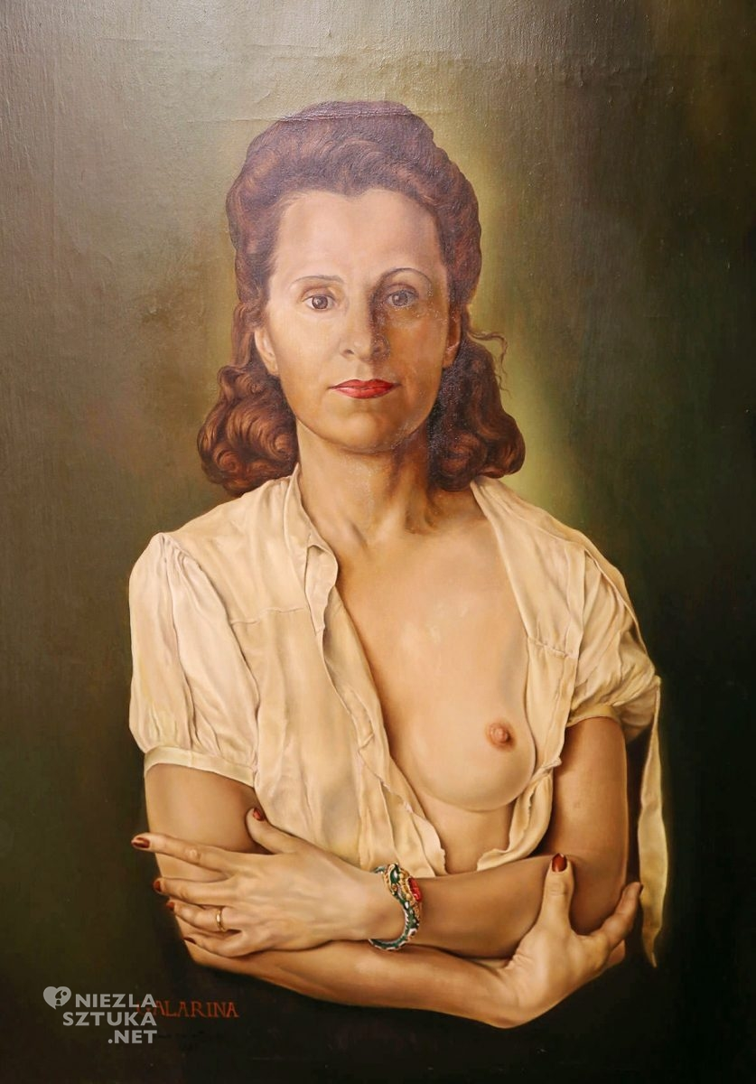 Salvador Dali, Gala Dali, portret, kobieta, niezła sztuka