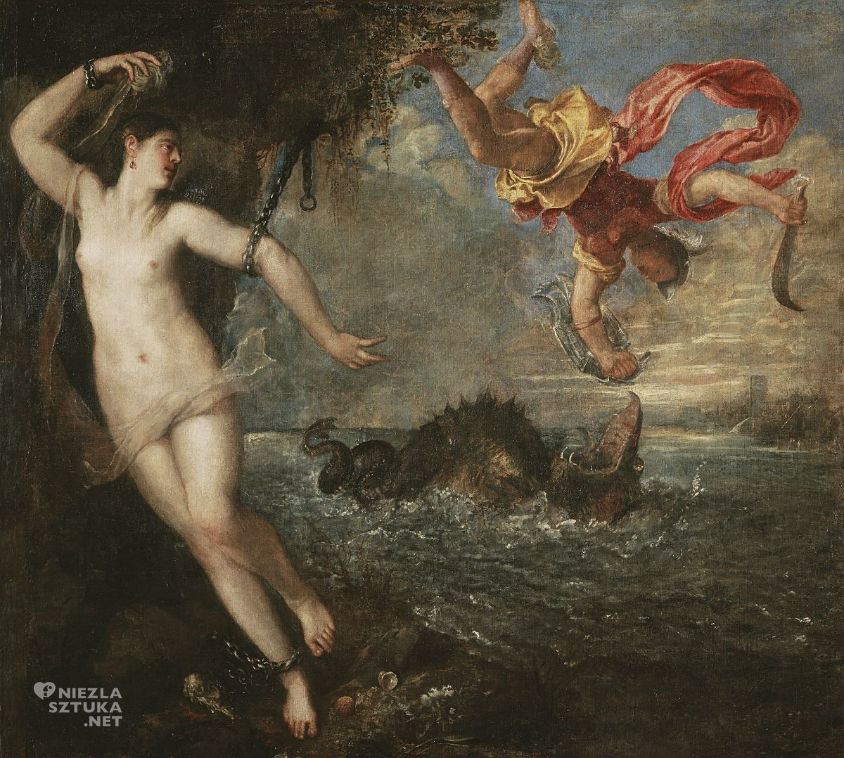 Tycjan, Perseusz i Andromeda, renesans, sztuka włoska, Niezła Sztuka