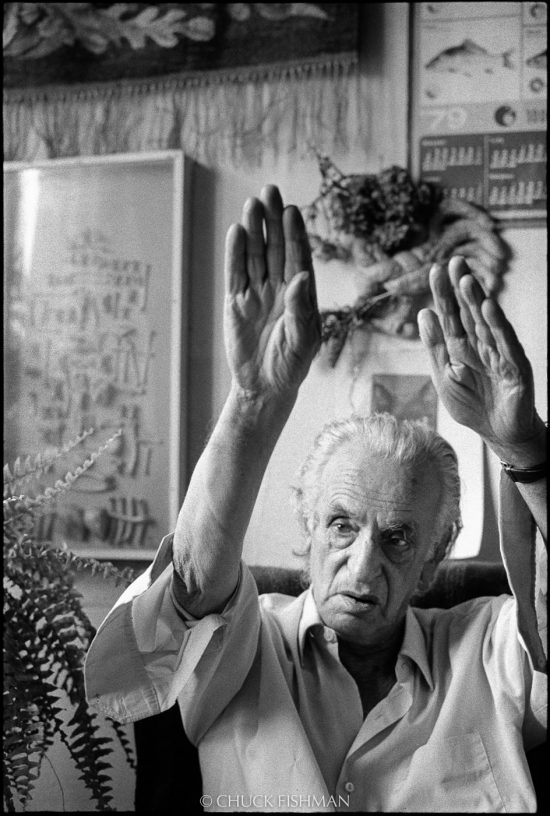 Jonasz Stern. malarz, Chuck Fishman, fotograf, niezła sztuka