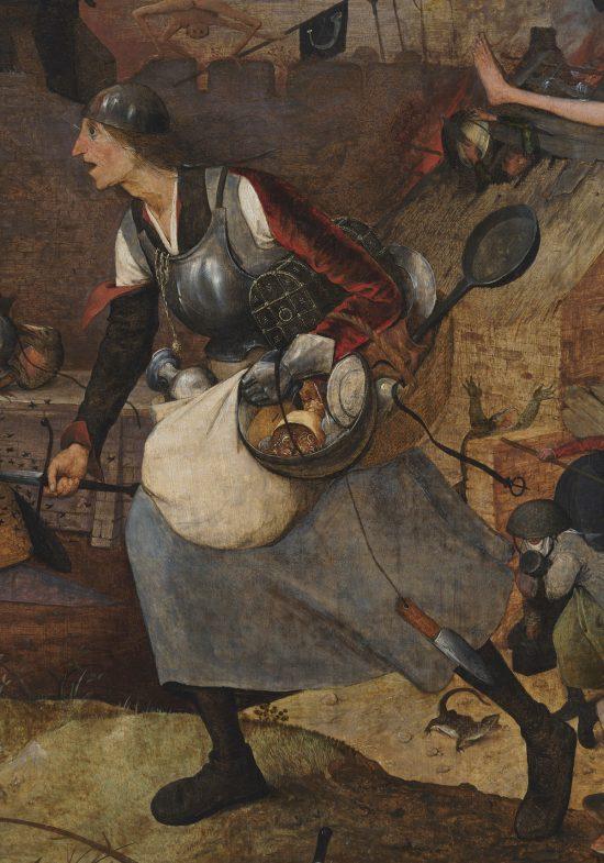 Pieter Bruegel Starszy, Szalona Greta, Szalona Gocha, Dulle Griet, sztuka niderlandzkie, niezła sztuka