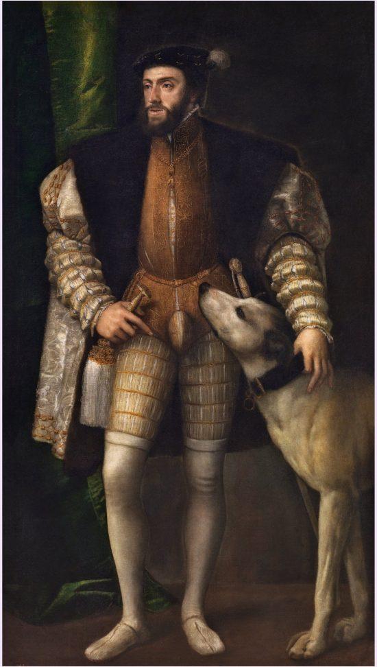 Tycjan, Karol V z psem, szkoła wenecka, renesans, sztuka włoska, Niezła Sztuka