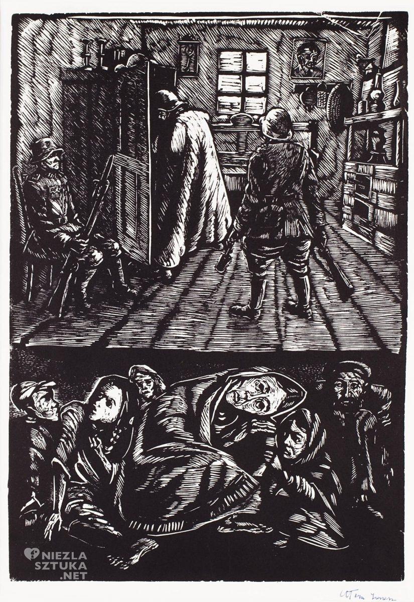 Jonasz Stern, Kryjówka, Getto lwowskie, Salon dzieł sztuki Connaisseur, Kraków, Koneser, niezła sztuka