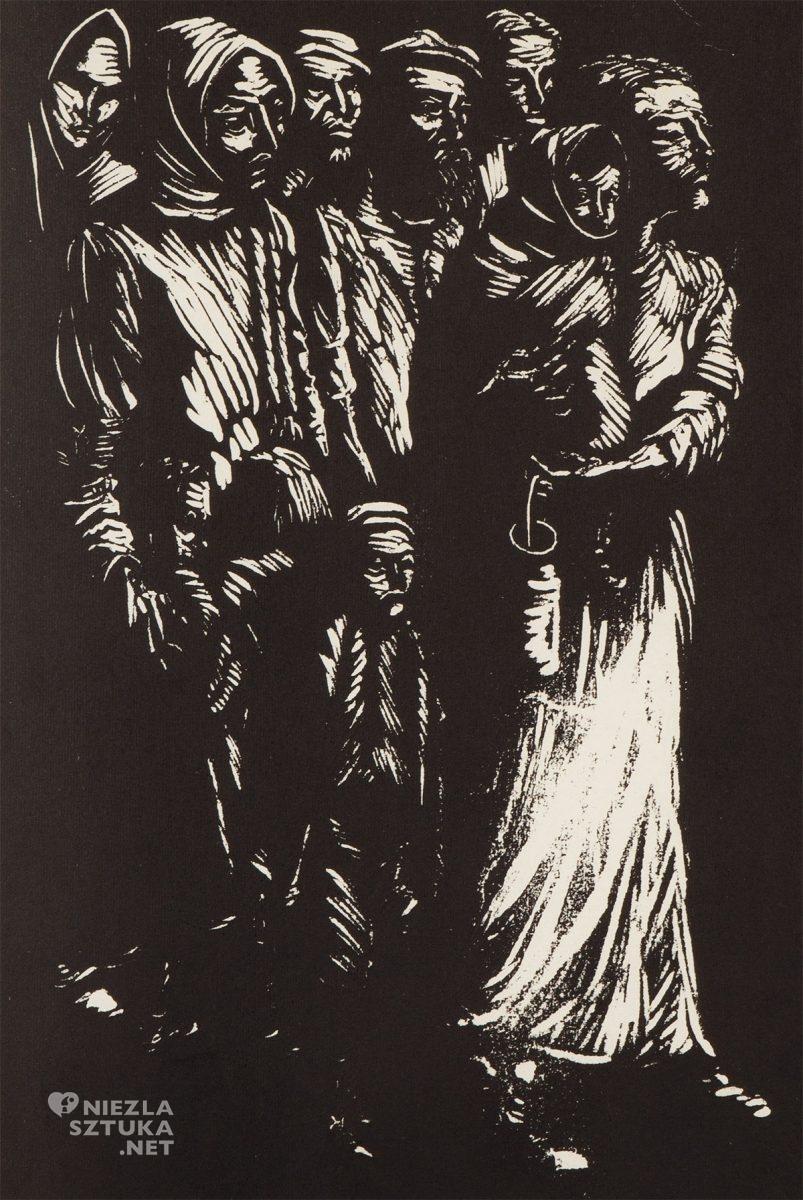 Jonasz Stern, Getto lwowskie, Salon dzieł sztuki Connaisseur, Kraków, Koneser, niezła sztuka