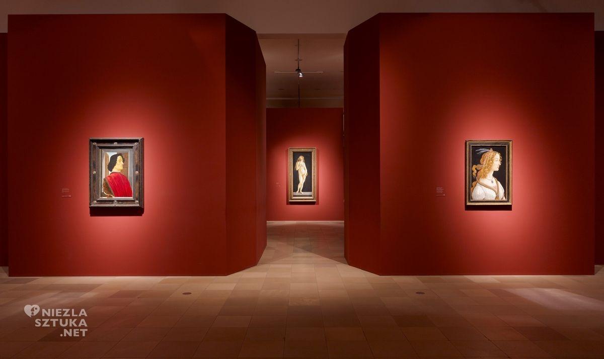 Botticelli, Simonetta Vespucci, Stadel museum, niezła sztuka