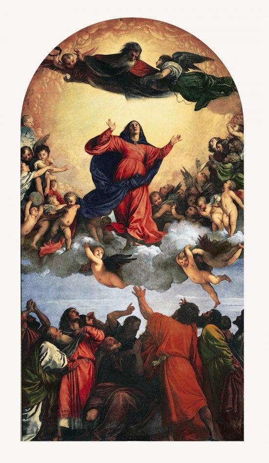 Tycjan, Assunta, malarstwo religijne, szkoła wenecka, renesans, sztuka włoska, Niezła Sztuka