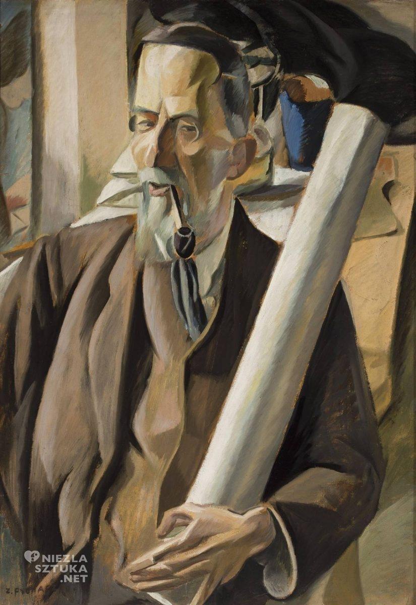 Zbigniew Pronaszko, Portret, architekt, Portret architekta, niezła sztuka