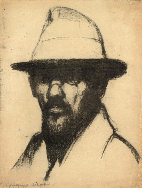Feliks Jabłczyński, Autoportret, sztuka polska, Niezła Sztuka