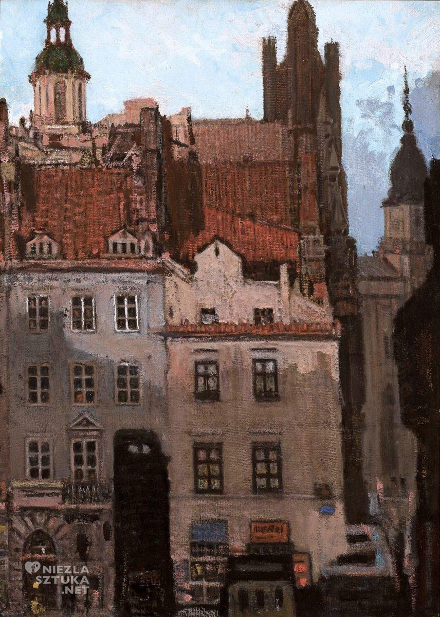 Feliks Jabłczyński, Stare Miasto w Warszawie, architektura, Niezła Sztuka