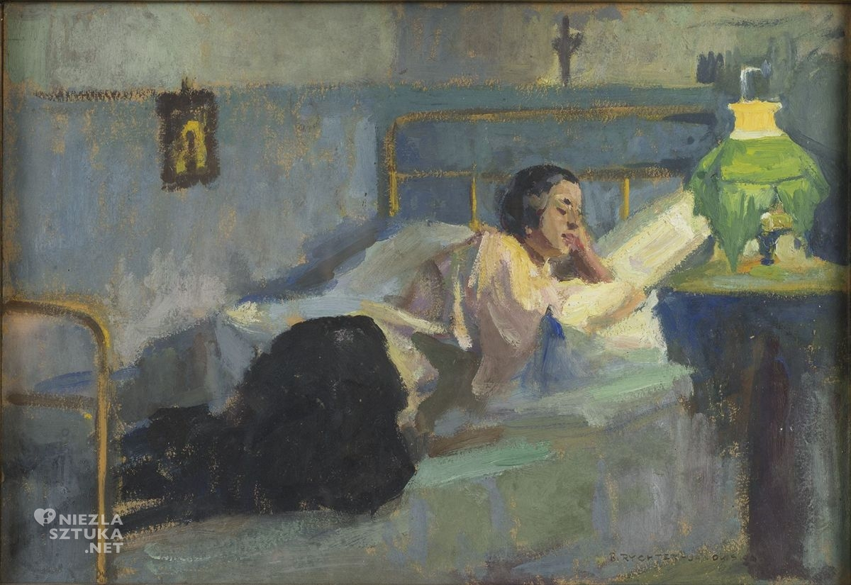Bronisława Rychter-Janowska, malarka, artystka polska, sztuka polska, niezła sztuka