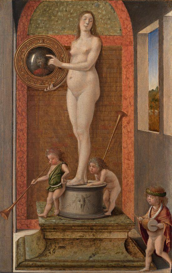 Giovanni Bellini, Alegoria Roztropności, niezła sztuka