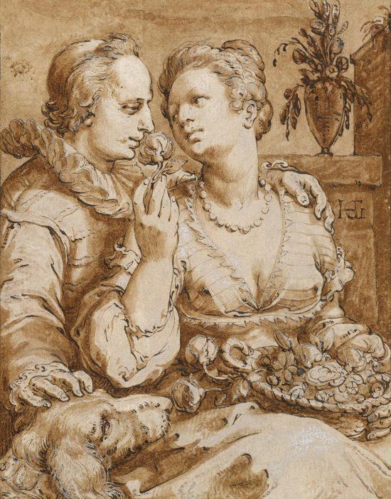 Hendrick Goltzius, Zapach, węch, zmysły, Niezła Sztuka