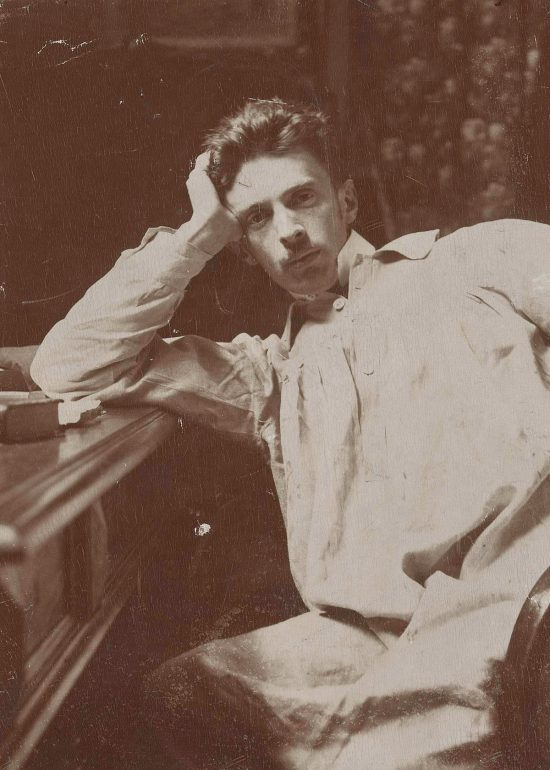 Józef Rapacki, portret, fotografia, sztuka polska, Niezła Sztuka