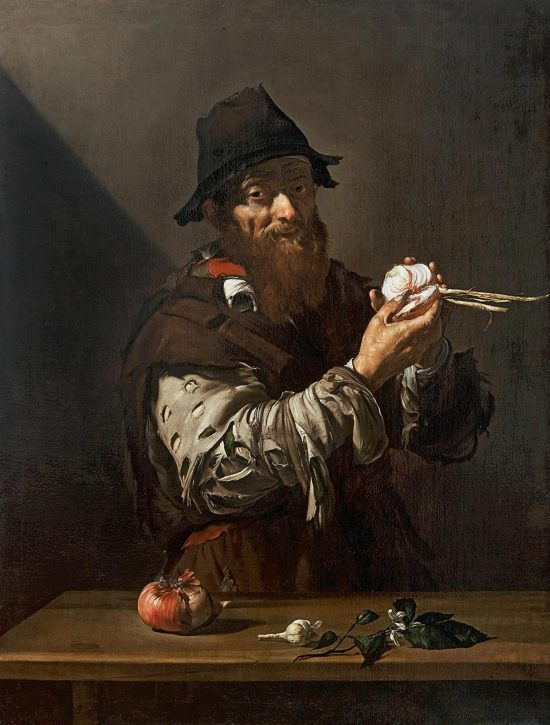Jusepe der Ribera, Alegoria zapachu, zmysły, sztuka hiszpańska, Niezła Sztuka