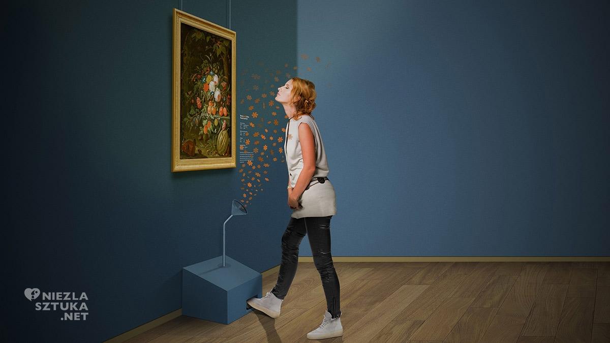 Wystawa, zapachy, sztuka, zmysły, Mauritshuis, Haga, Niezła Sztuka