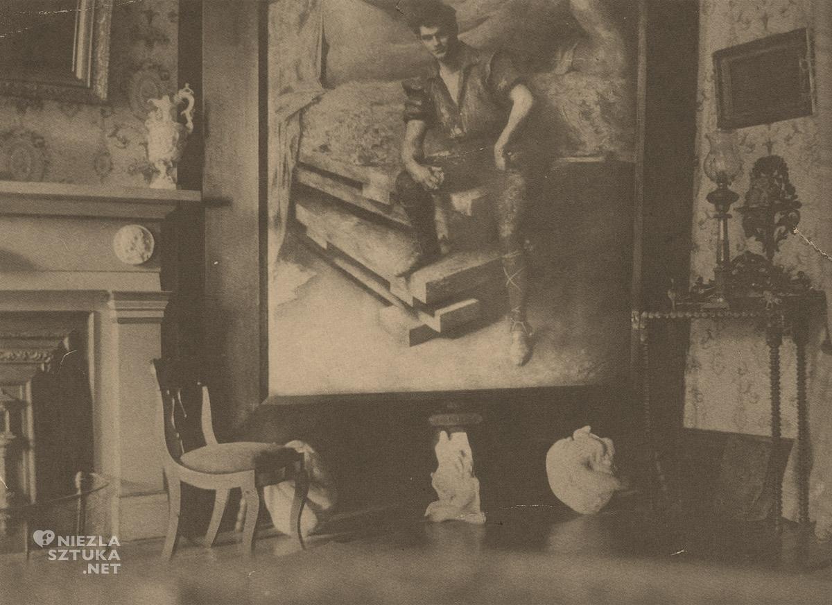 Anna Bilińska, Anna Bilińska-Bohdanowicz, Portret George'a Greya Barnarda, sztuka polska, Niezła Sztuka
