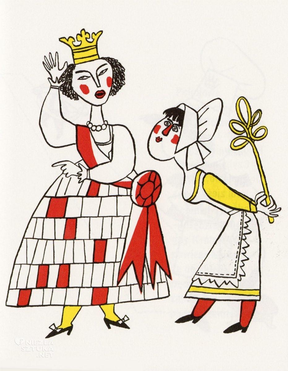 Eryk Lipiński, ilustracja, książki dla dzieci, Śniadanie króla, A.A. Milne, literatura dziecięca, Niezła Sztuka