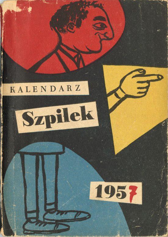 Eryk Lipiński, Szpilki, kalendarz, okładka książki, Niezła Sztuka