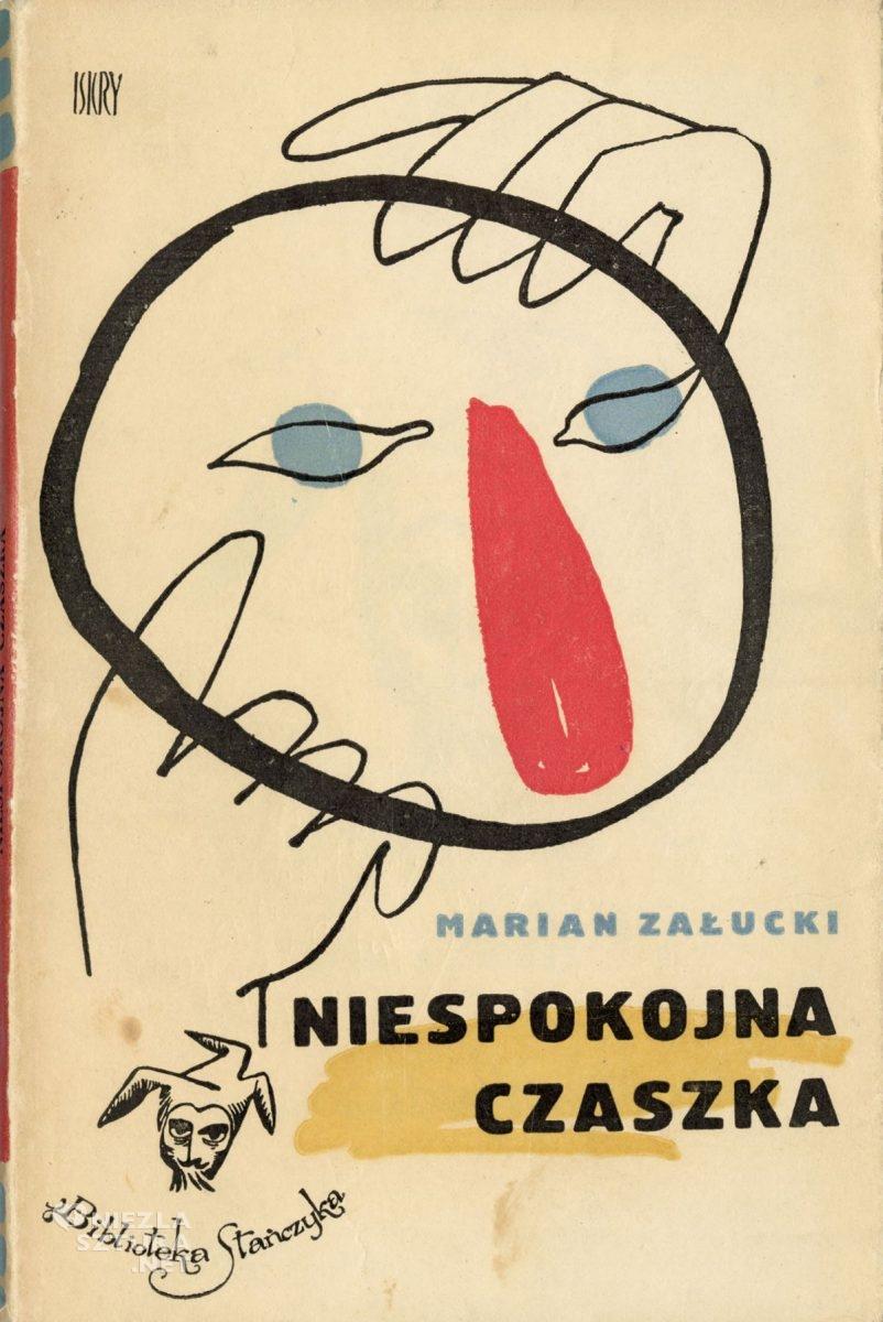 Eryk Lipiński, okładka książki, Marian Załucki, Niepokorna czaszka, Niezła Sztuka