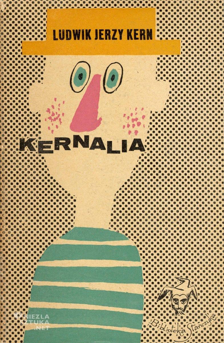 Eryk Lipiński, okładka książki, Kernalia, Niezła Sztuka