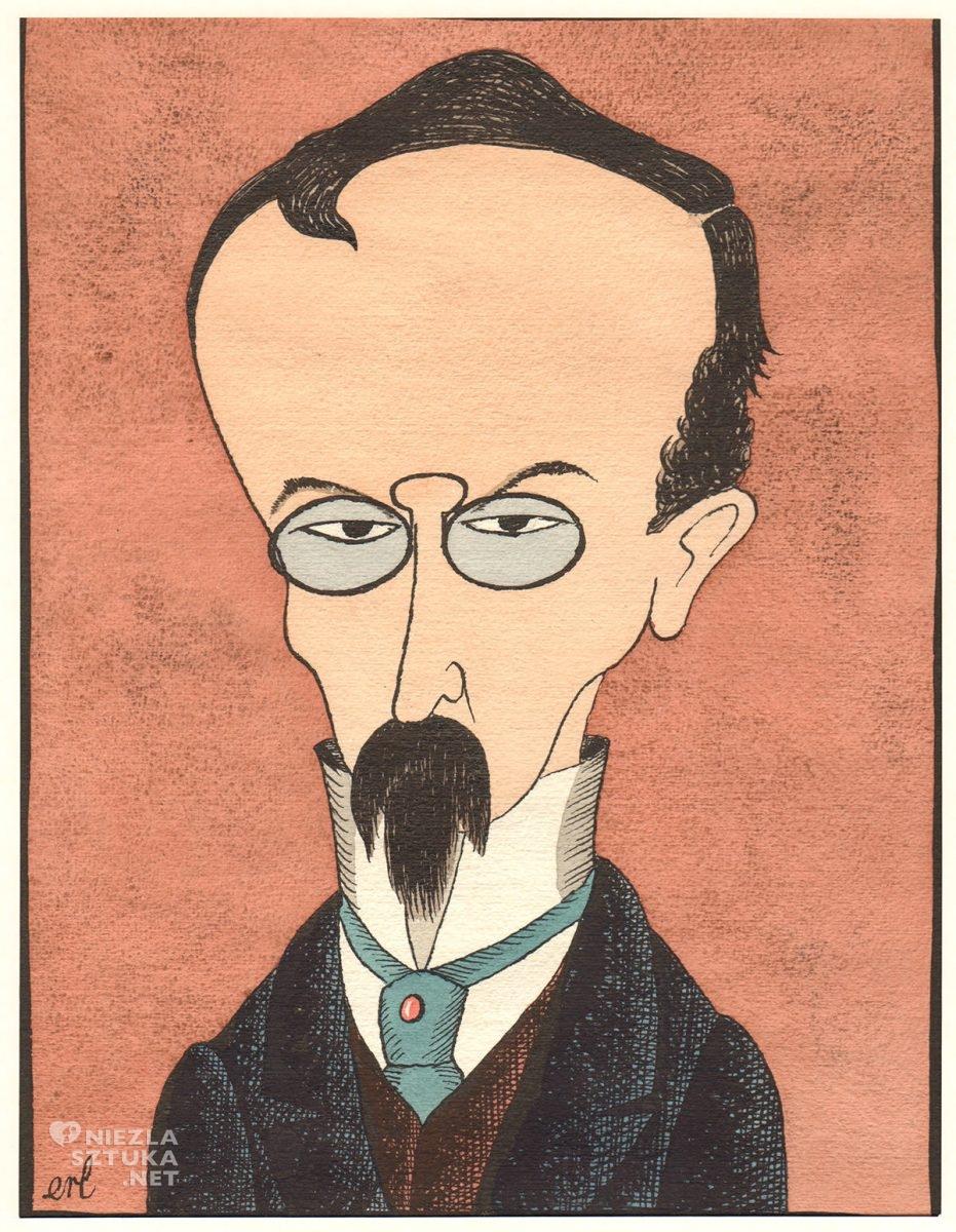 Eryk Lipiński, Karykatura, Henryk Sienkiewicz, Niezła Sztuka