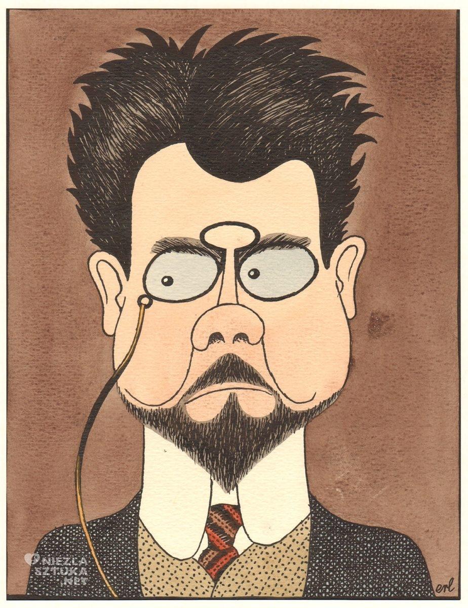 Eryk Lipiński, karykatura, Władysław Stanisław Reymont