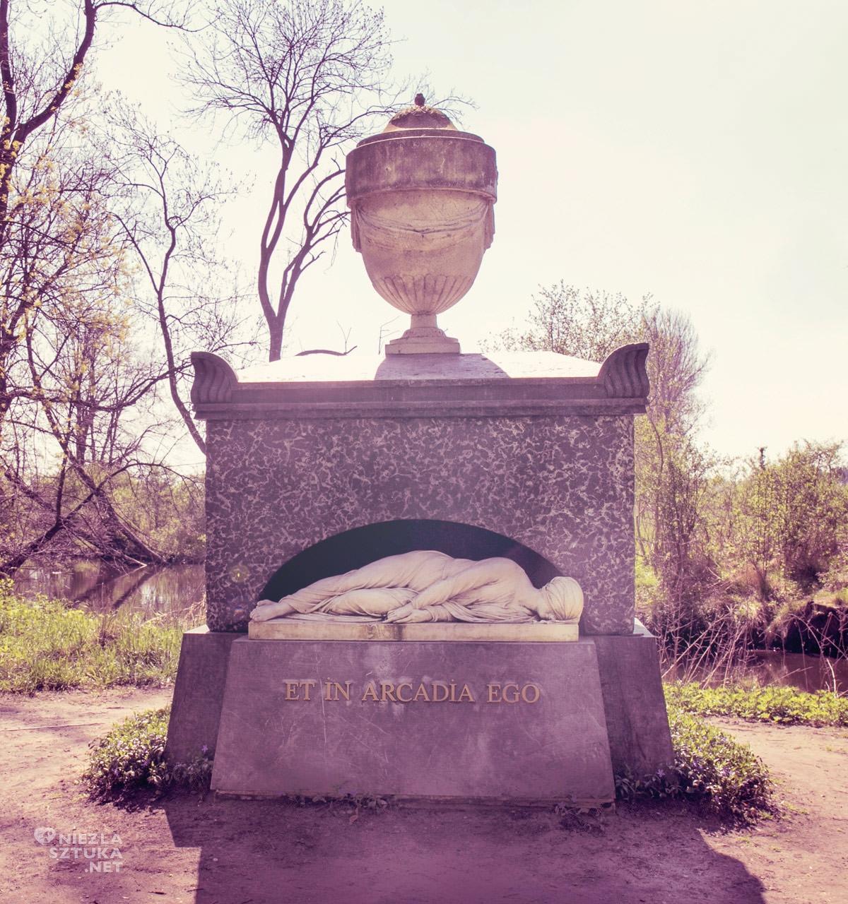 Arkadia, Nieborów, grobowiec, Niezła Sztuka