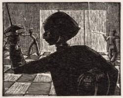 Wiktoria Goryńska, Florecistka - autoportret, szermierka, kobiety w sztuce, Niezła Sztuka
