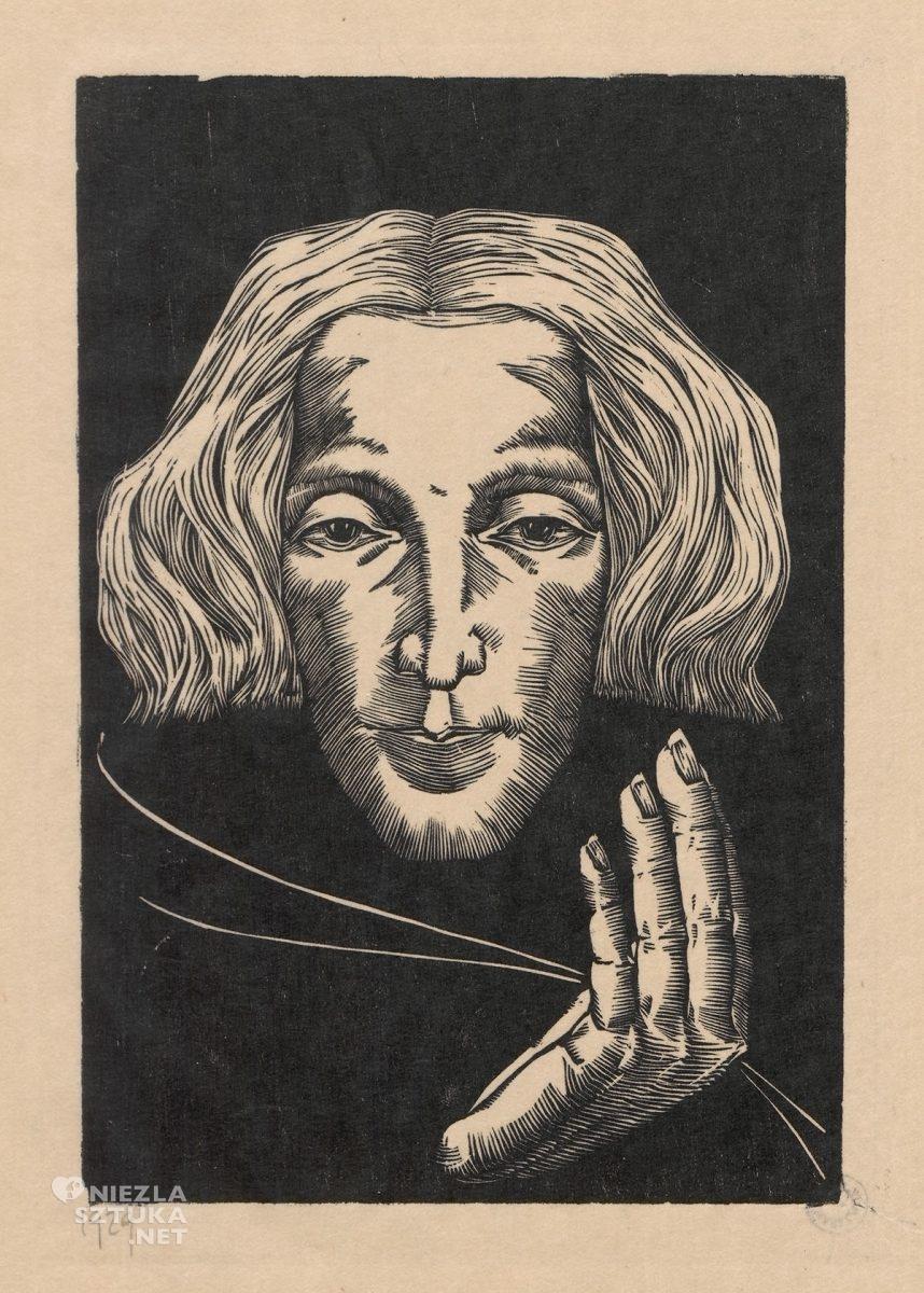 Wiktoria Goryńska, Głowa, Autoportret, kobiety w sztuce, Niezła Sztuka